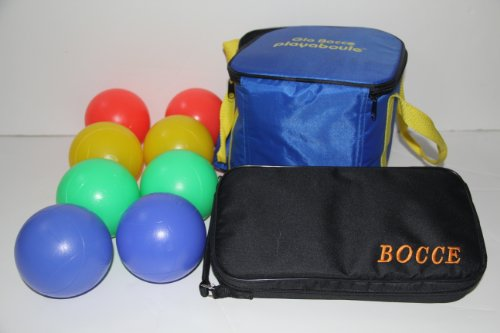 Bocce Package - Glow in Dark Light up Set and 73mm Metal Petanque Set [Misc.] by BuyBocceBalls by BuyBocceBalls