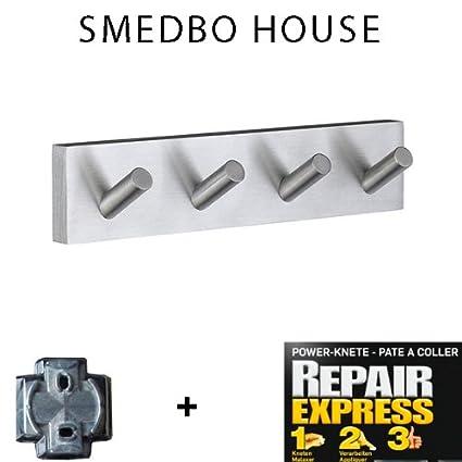 Smedbo House - Perchero (RS 359 sin agujeros. Solo pegar ...