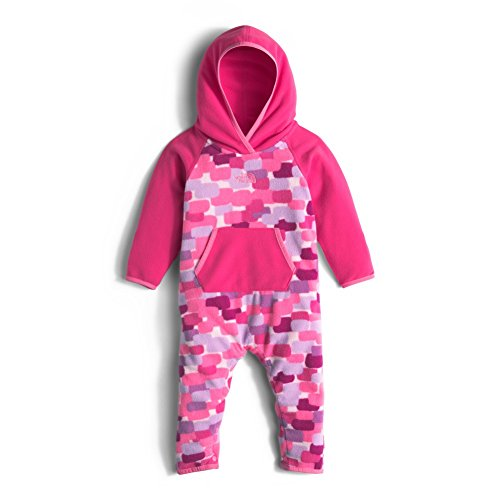 The North Face Kids Baby Glacier One-Piece (Infant), Cabaret Pink, 6-12 Months (Cabaret Outfits)