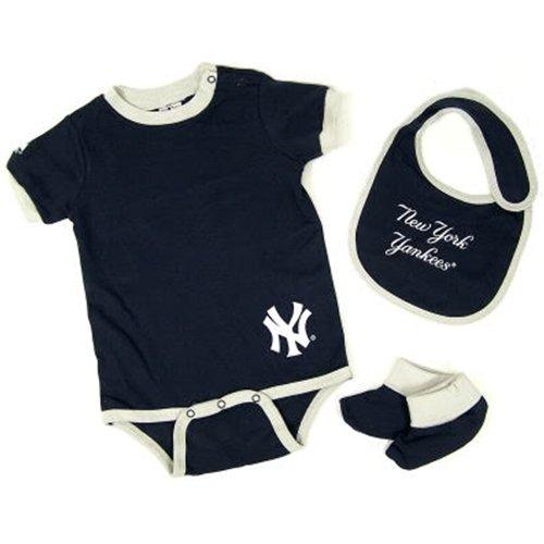 MLB New York Yankees Onesie Bib & Bootie Infant/Toddler Boys'