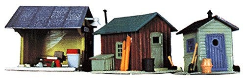 Life-Like Trains HO Scale Building Kits - Trackside ()