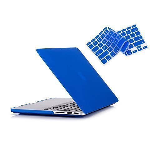 Ruban Soft-Touch Plastic Hard Case Shell with Keyboard - Macbook 15 In Keyboard Cover