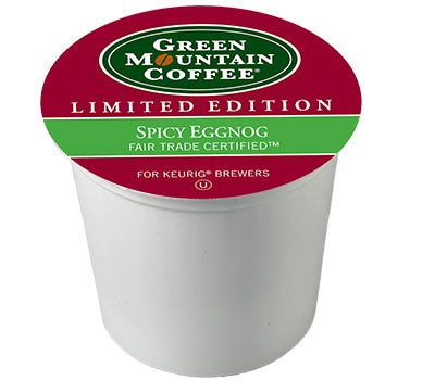 [Green Mountain SPICY EGGNOG - 12 k-cups] (Eggnog Cups)