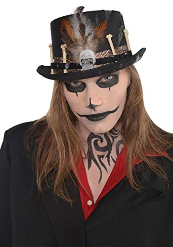 AMSCAN Witch Doctor Hat Halloween Costume Accessories, One Size ()