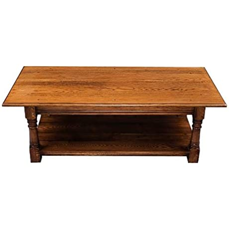 English Vintage Oak Coffee Table