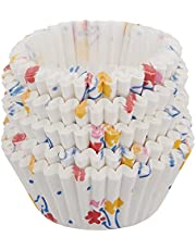 RedMan 1303 Greaseproof Floral Baking Case, 73 mm, White (Pack of 500)