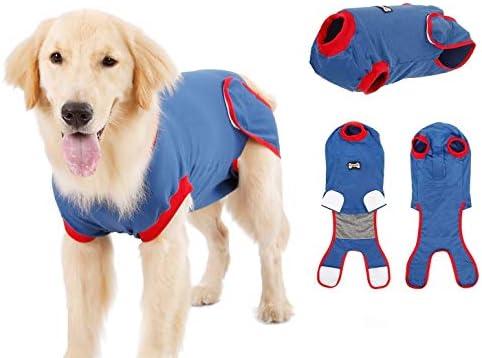 Pup-Town Wundschutzanzüge Für Hunde, Recovery Suit Hund, Postoperative Weste Verhindern Sie Lecken, Beißen, Und Belästigung Anderer Haustiere