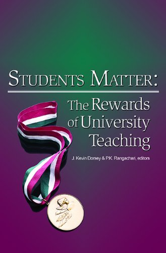 Book cover from Students Matter: The Rewards of University Teaching by Howard S. Barrows