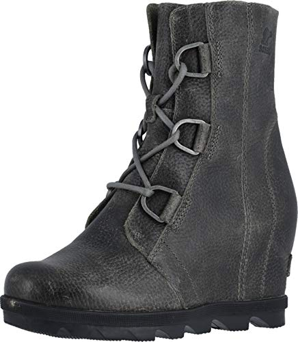 Cold Weather Ankle Boot - Sorel - Women's Joan of Arctic Wedge II Ankle Boot, Quarry, 8 M US