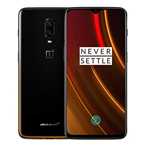 OnePlus 6T A6013 McLaren Edition 256GB Storage + 10GB Memory Factory  Unlocked 6 41 inch AMOLED Display Android 9 - Carbon Fiber Black US Version