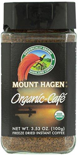 - Mount Hagen Organic Freeze Dried Instant Ground Coffee, 3.53 oz