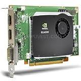 nVIDIA Quadro FX580 PCI-E 2-Ports DVI 512MB HP 508283-001 graphics card