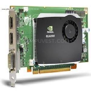nVidia Quadro FX580 512MB PCI-E 2-Ports DVI video graphics card HP 519295-001 by NVIDIA