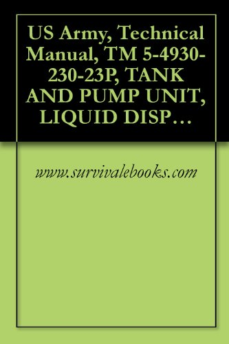 US Army, Technical Manual, TM 5-4930-230-23P, TANK AND PUMP UNIT, LIQUID DISPENSING FOR TRUCK MOUNTING MIL DESIGN TANK AND PUMP UNITS, GASOLINE ENGINE (English Edition)