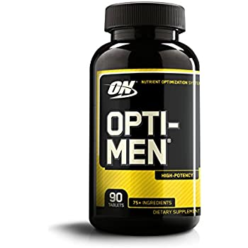 Optimum Nutrition Opti-Men Daily Multivitamin Supplement, 90 Count (Packaging may vary)