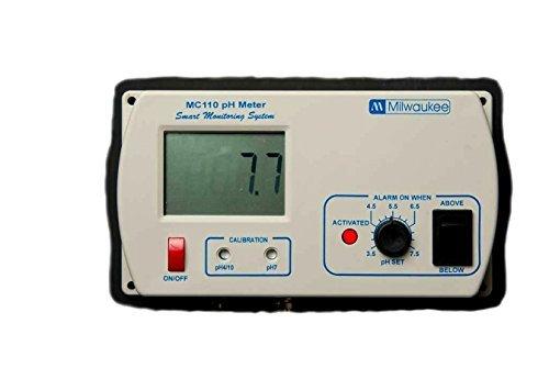 Milwaukee Instruments MIMC110 pH Monitor/Hi-Lo User Select Alarm