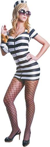 (Morris Costumes Princess In Prison Bk&Wt)
