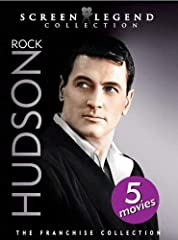 Handsome, witty and extremely talented, Rock Hudson was the embodiment of the Hollywood leading man during his illustrious film career. Join this iconic actor as he lights up the screen with five of his most impressive films in the Rock Hudso...
