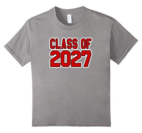 Kids Class Of 2027 Tshirt School Spirit Keepsake Gift Idea 8 (School Spirit Clothing Ideas)