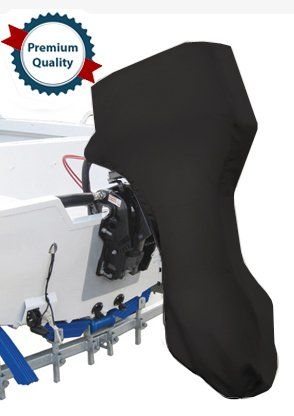 Oceansouth Full Outboard Motor Engine Cover Black Fits Motors up to 3.5hp. - 3.5 Hp Engine