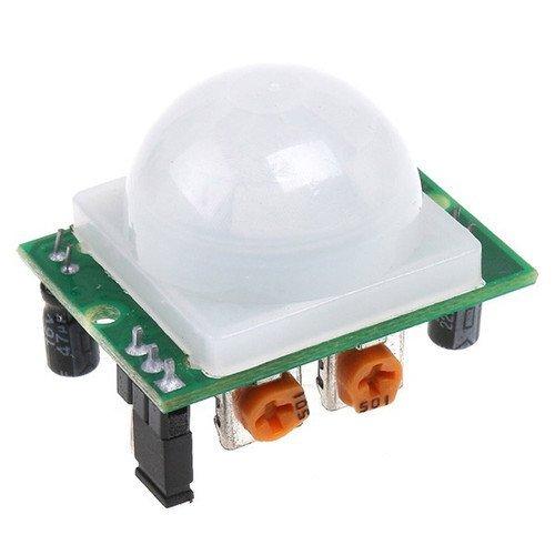 - 5pcs AD-007 HC-SR501 Adjustable IR Pyroelectric Infrared PIR Motion Sensor Detector Module