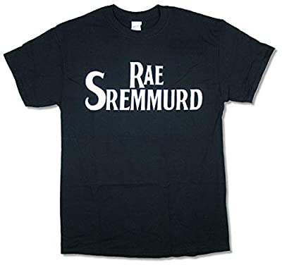 Rae Sremmurd Basic Name Logo Black T Shirt