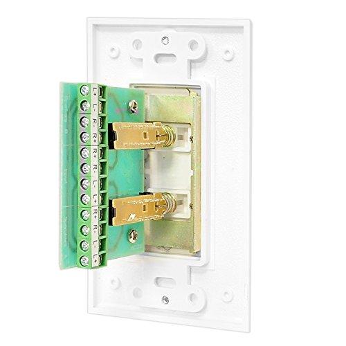 Pyle In Wall Speaker Selector Switch Wall Plate Speaker