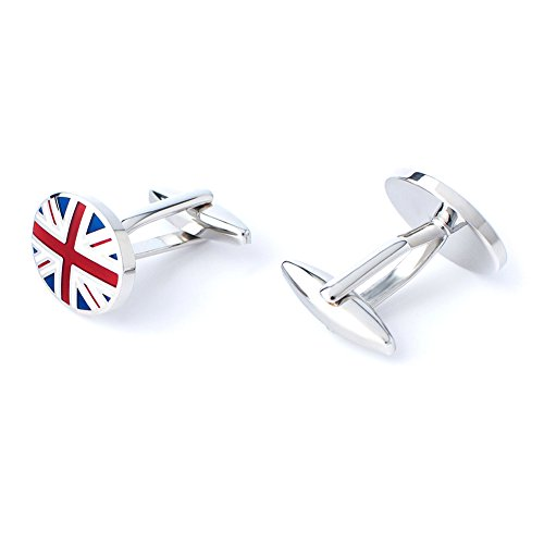 Anfly Official England British Flag Cufflinks lag Wedding Dress Shirts Cufflinks for Men by Anfly (Image #2)