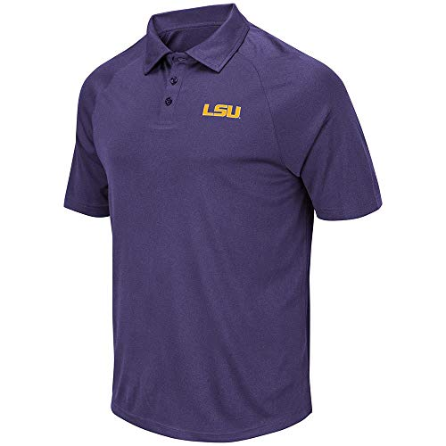 Mens LSU Louisiana State Tigers Wellington Polo Shirt - M ()