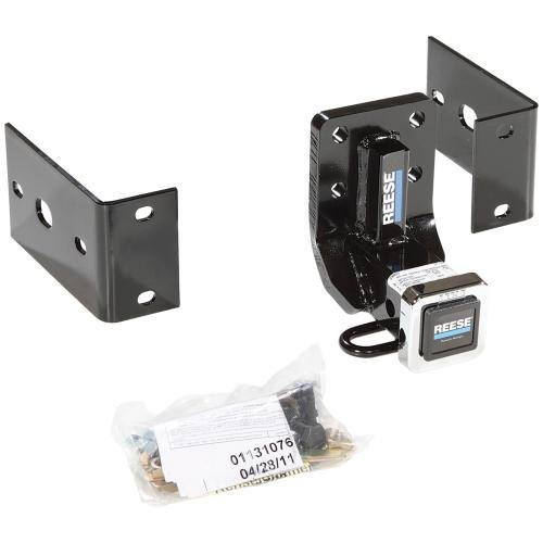 Reese 44720 Class III-IV Custom-Fit Hitch with 2 Square Receiver opening, includes Hitch Plug Cover by Reese Towpower