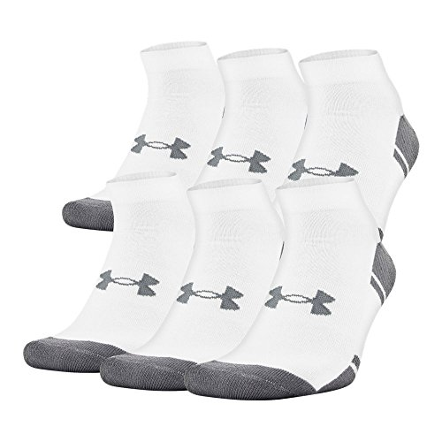 Under Armour UA Resistor III Lo Cut - 6-Pack LG White