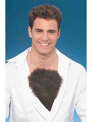Hairy Chest Costume Accessory and Makeup