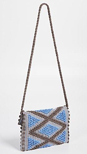 Suni Antonello Topo Azzurro Rombi Women's Clutch Hq5qw0Y