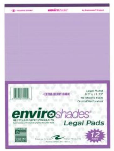 Roaring Spring Paper Products 74140 Enviroshades Legal Pads - 6 Pack Per Case by Roaring Spring