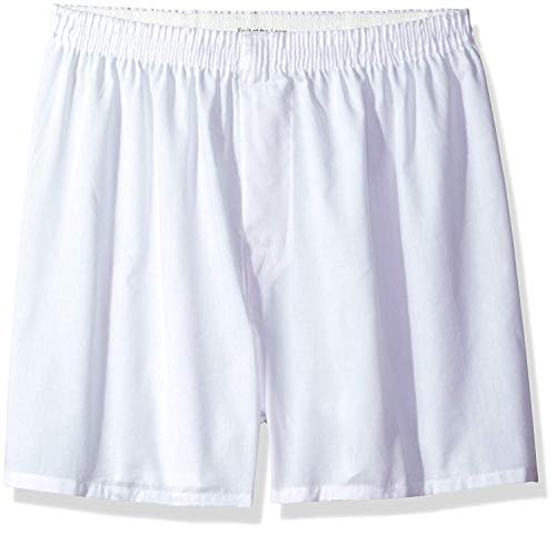 Fruit of The Loom Men's White Boxers Multipack (X-Large (40-42