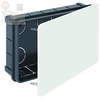 Caja Empotrar Registro Con Tapa 160 x 100 x 45 mm.: Amazon.es: Industria, empresas y ciencia