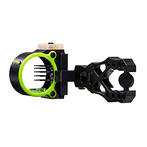 - Black Gold Rush Bow Sight, 5 PIN