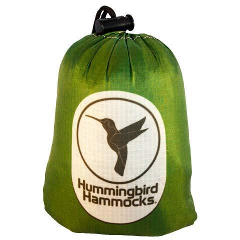 Hummingbird Hammocks Ultralight Single Plus Hammock, Forest Green