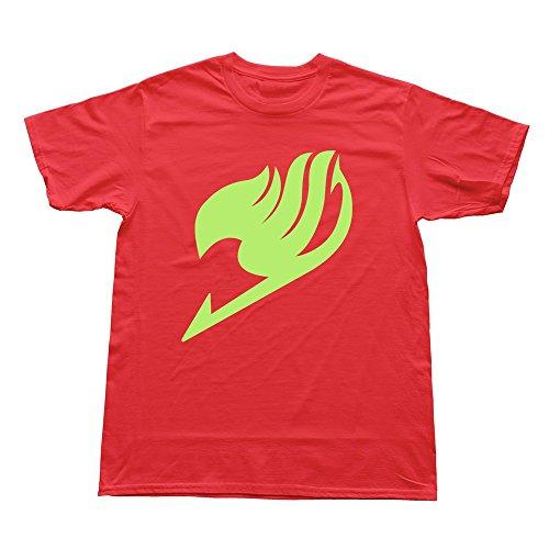 Man Fairy Tail Custom Retro Red T-Shirt By RRG2G