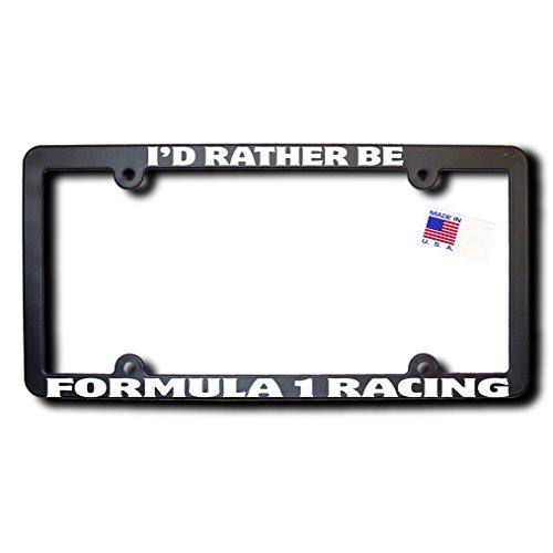 Racing Formula (I'd Rather Be FORMULA 1 RACING License Frame (T2))