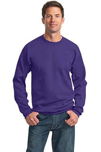 Purple Classic Crew Sweatshirt - 1
