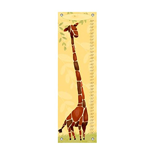 Oopsy Daisy Gillespie The Giraffe Growth Chart, Yellow (Gillespie Giraffe Growth Chart)