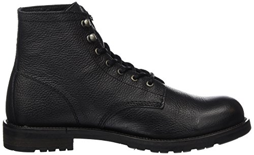 Shoe The Bear Herren Worker Kurzschaft Stiefel Schwarz (Black)