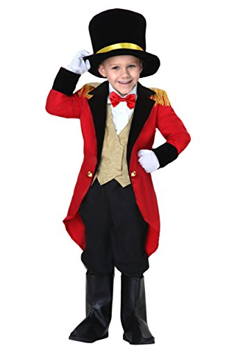 Little Boys' Ringmaster Costume 18 Months Red -