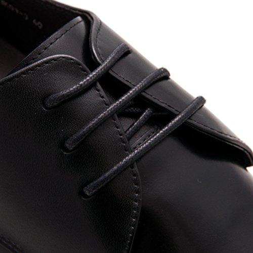 Zerimar Scarpe da Uomo con Aumentano Interni Aumenta +7 cm Genuina Scarpe di Pelle 100% Naturale