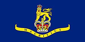 magFlags Large Flag Governor-General of Mauritius from 12 March 1968 to 12 March 1992 | landscape flag | 1.35m² | 14.5sqft | 80x160cm | 30x60inch - 100% Made in Germany - long lasting outdo
