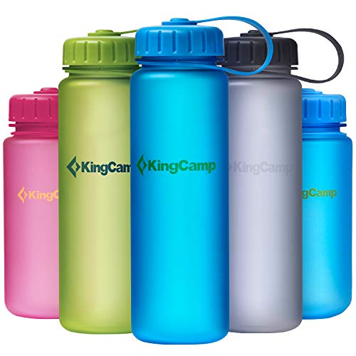 KingCamp Wasserflasche TRITAN BPA frei 500 ml / 17,60 fl. Oz (Grün)