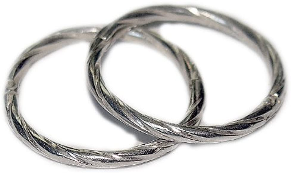 Sterling Silver 925 Solid Hinged Sleeper Earrings