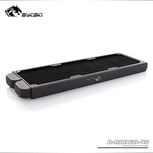 Bykski B-RD360-TN 3x12cm 360mm Copper Radiator Water Cooling Black