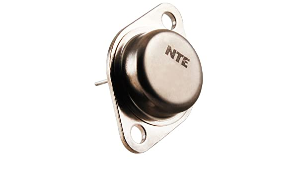 NTE Electronics NTE104 PNP Germanium Transistor for Audio Frequency Power Amplifier 50V Collector-Base Voltage to-3 Case 10A Collector Current